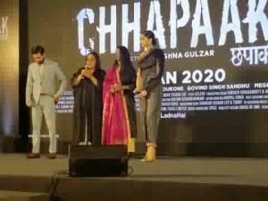 Chhapaak Title Song launch Uncut