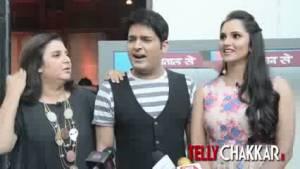 Farah & Sania in 'The Kapil Sharma Show'
