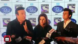 Launch of Indian Idol