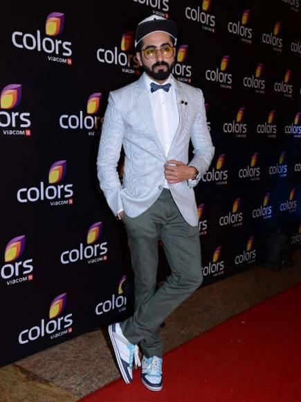 Anil Kapoor and Raj Nayak (CEO, Colors)