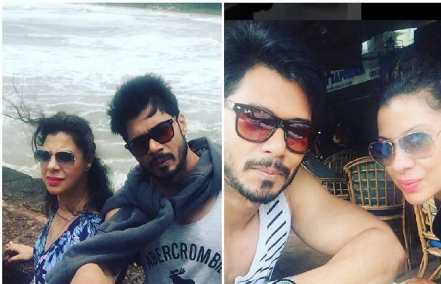 Pooja Banerjee with hubby Sandip Sejwal
