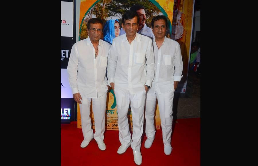 Bhumi Pednekar, Madhuri Dixit & John Abraham