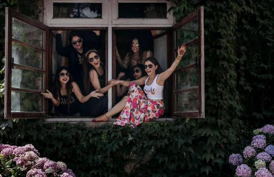 Unseen pics: Rubina-Abhinav's 'heavenly' wedding