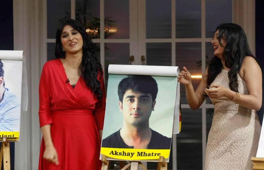 Eisha, Samiksha & Sheen choose the hottest amongst Rithvik, Shabbir & Akshay