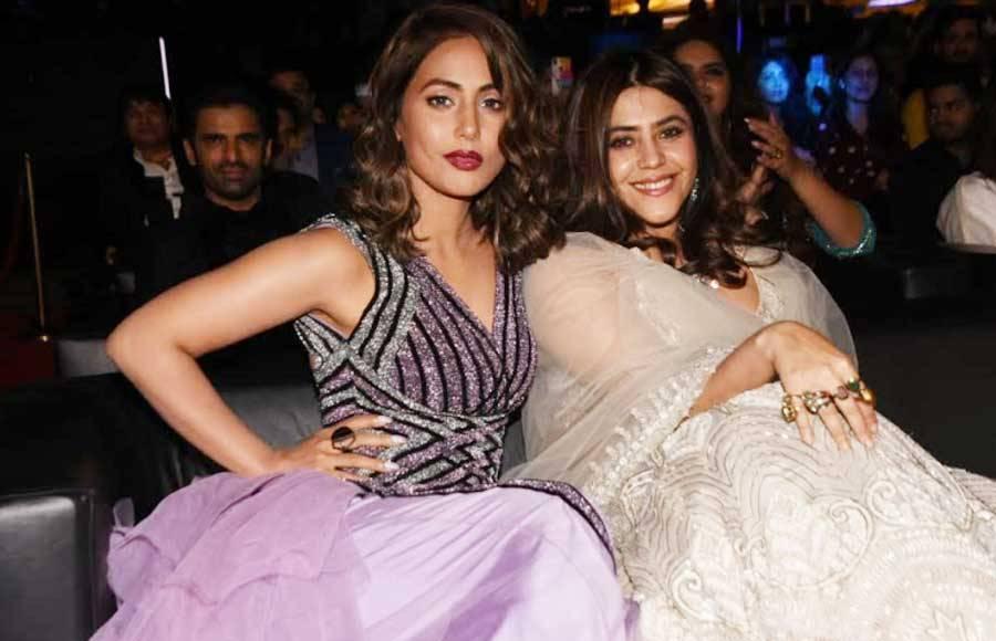 Ranveer, Sara and others attend Saas Bahu Aur Saazish anniversary bash!