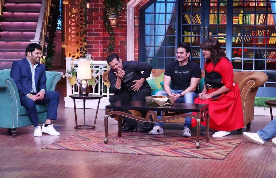 The Khan family on the Kapil Sharma Show