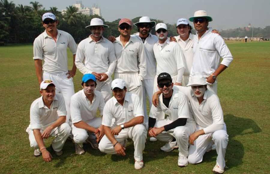 TV actors at a Cricket tournament
