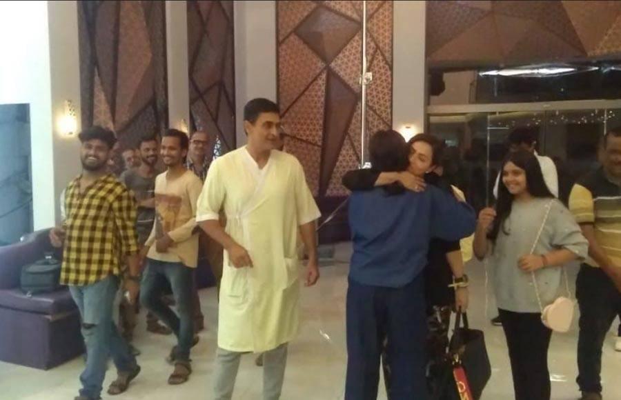 On the sets of Star Plus' Sanjivani