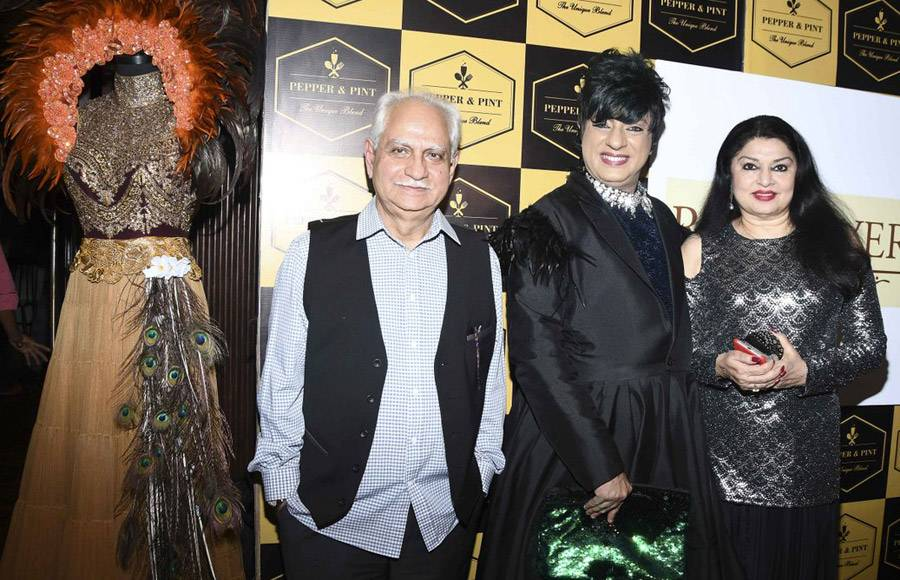 Leena Jain's Pepper & Pint hosted fashion nights in collaboration with designer Rohit Verma