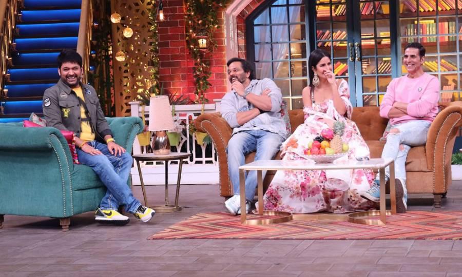 Sooryavanshi cast on the sets of The Kapil Sharma Show